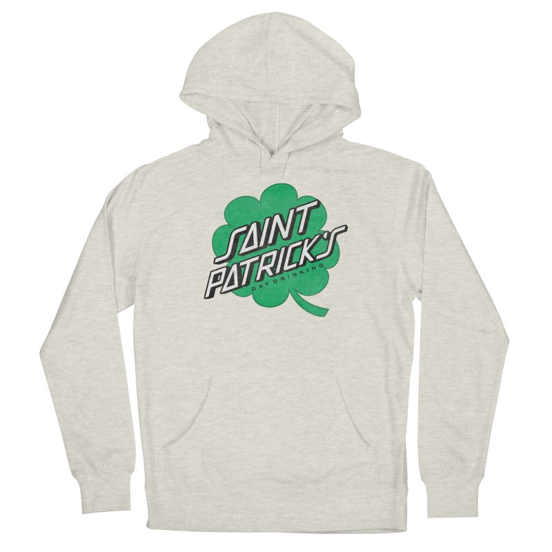 Saint Patrick's Day drinking Men's French Terry Pullover Hoody by Opippi
