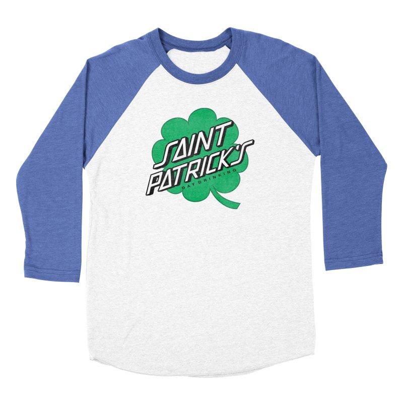 Saint Patrick's Day drinking Women's Baseball Triblend Longsleeve T-Shirt by Opippi