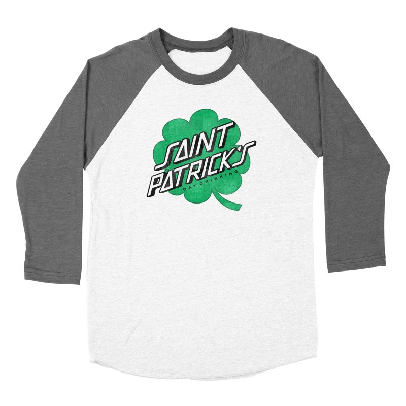 Saint Patrick's Day drinking Women's Baseball Triblend Longsleeve T-Shirt by Opippi