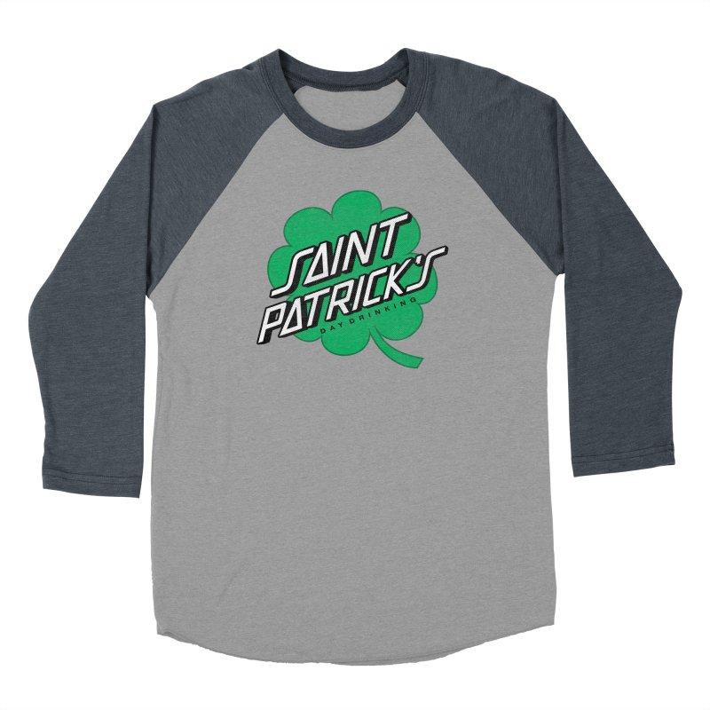 Saint Patrick's Day drinking Men's Baseball Triblend Longsleeve T-Shirt by Opippi