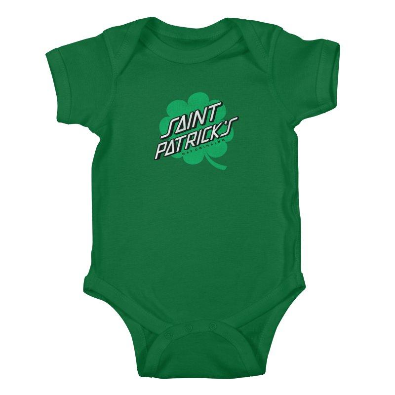 Saint Patrick's Day drinking Kids Baby Bodysuit by Opippi