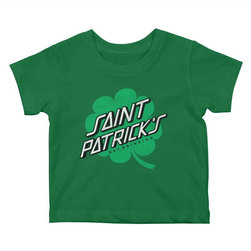 Saint Patrick's Day drinking Kids Baby T-Shirt by Opippi