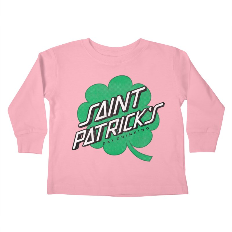 Saint Patrick's Day drinking Kids Toddler Longsleeve T-Shirt by Opippi