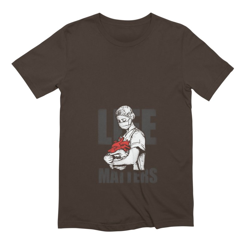 Life Matters Men's Extra Soft T-Shirt by Opippi