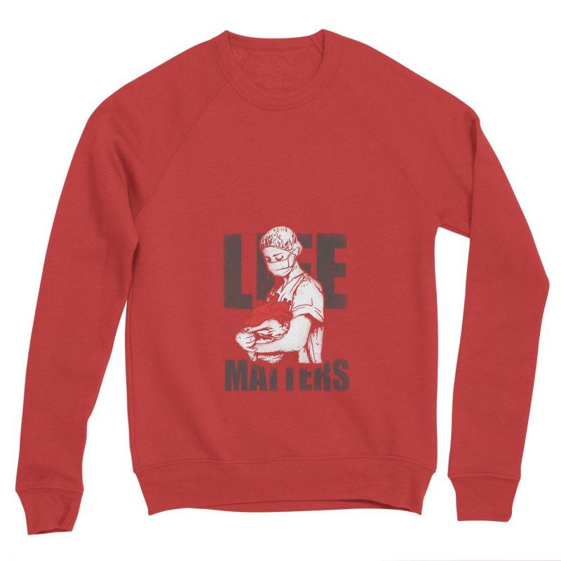 Life Matters Men's Sponge Fleece Sweatshirt by Opippi