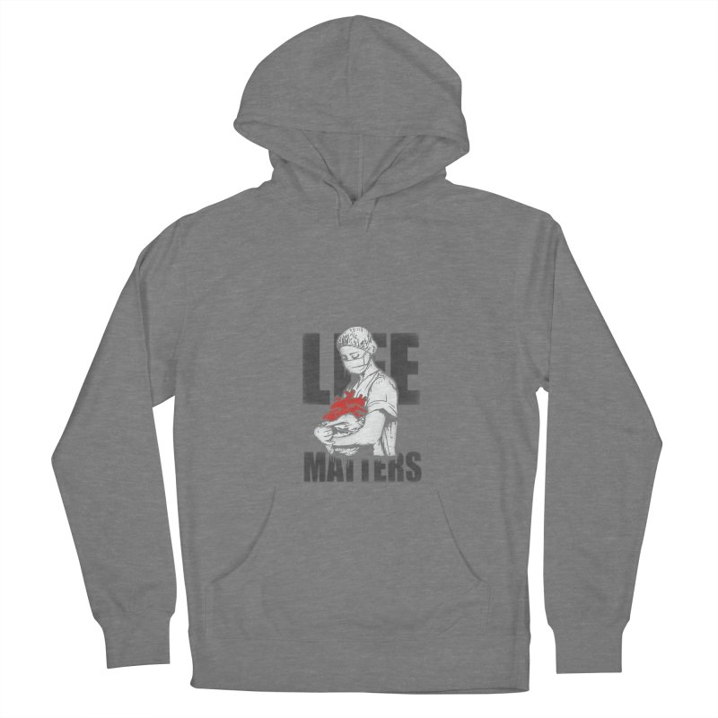 Life Matters Men's French Terry Pullover Hoody by Opippi