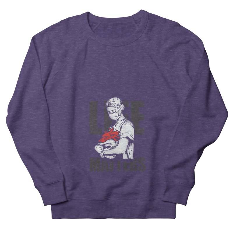 Life Matters Men's French Terry Sweatshirt by Opippi