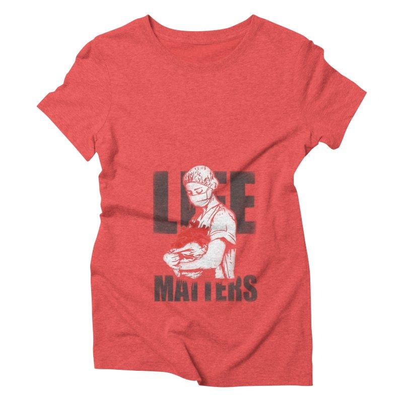 Life Matters Women's Triblend T-Shirt by Opippi