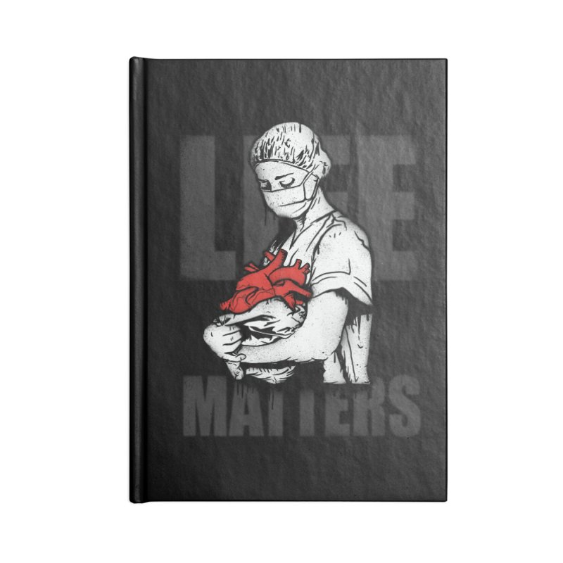 Life Matters Accessories Lined Journal Notebook by Opippi