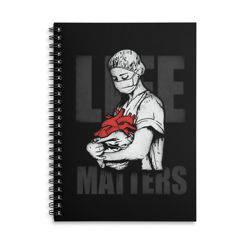 Life Matters Accessories Lined Spiral Notebook by Opippi