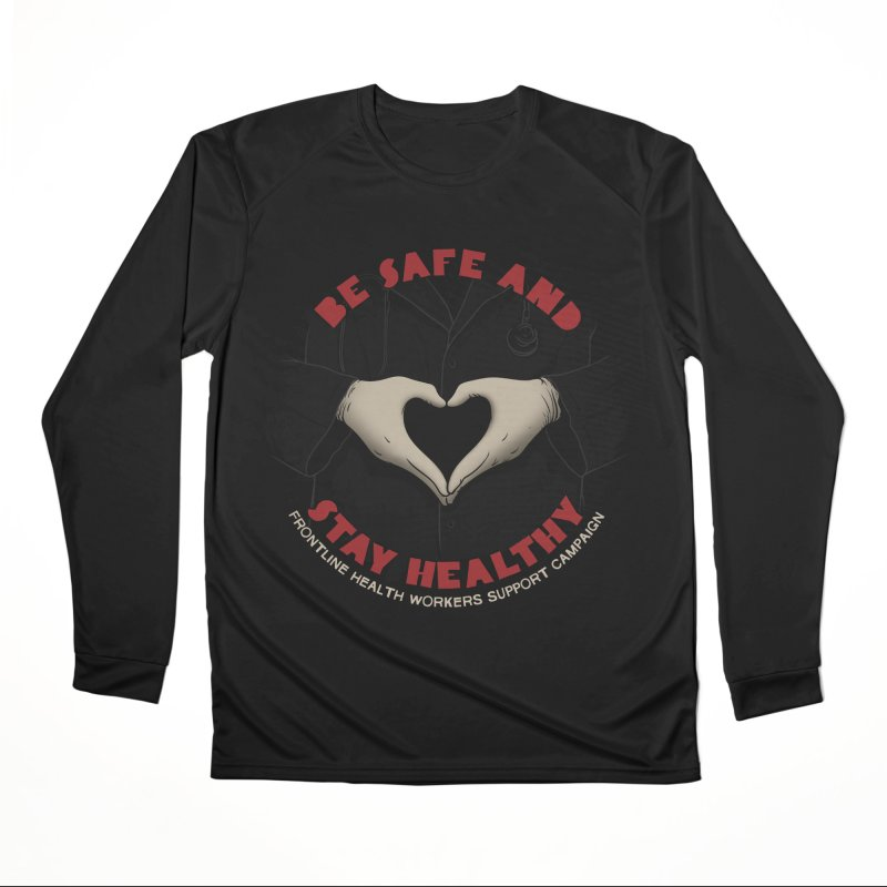 Be safe and stay healthy Men's Performance Longsleeve T-Shirt by Opippi