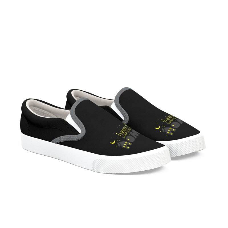 There's no safe place like HOME Men's Slip-On Shoes by Opippi