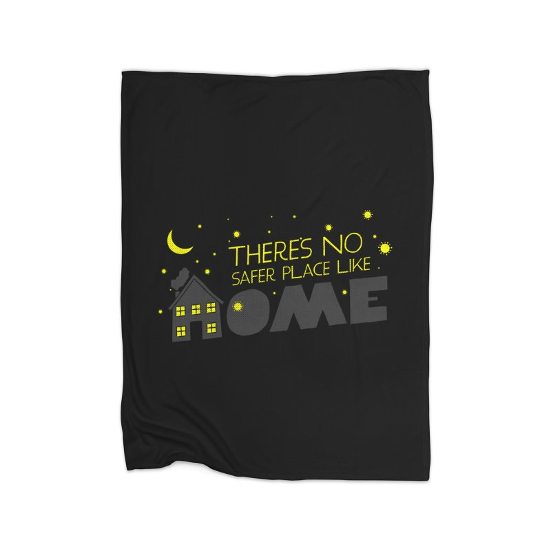 There's no safe place like HOME Home Fleece Blanket Blanket by Opippi