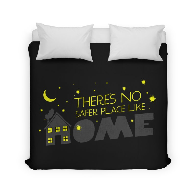 There's no safe place like HOME Home Duvet by Opippi