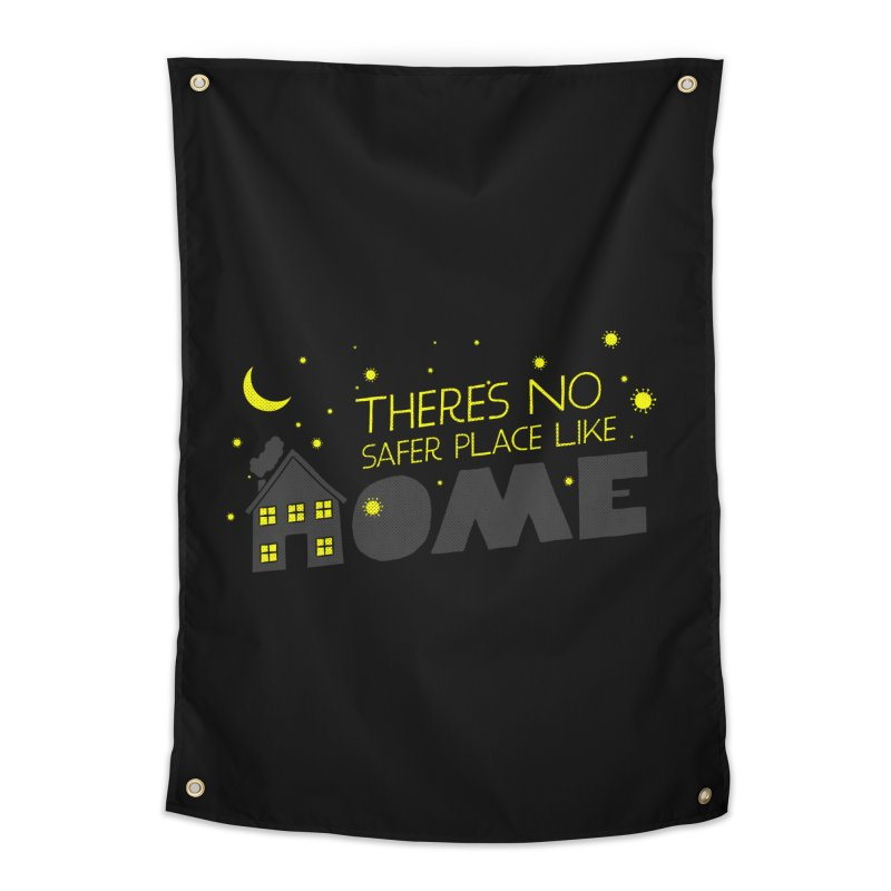 There's no safe place like HOME Home Tapestry by Opippi