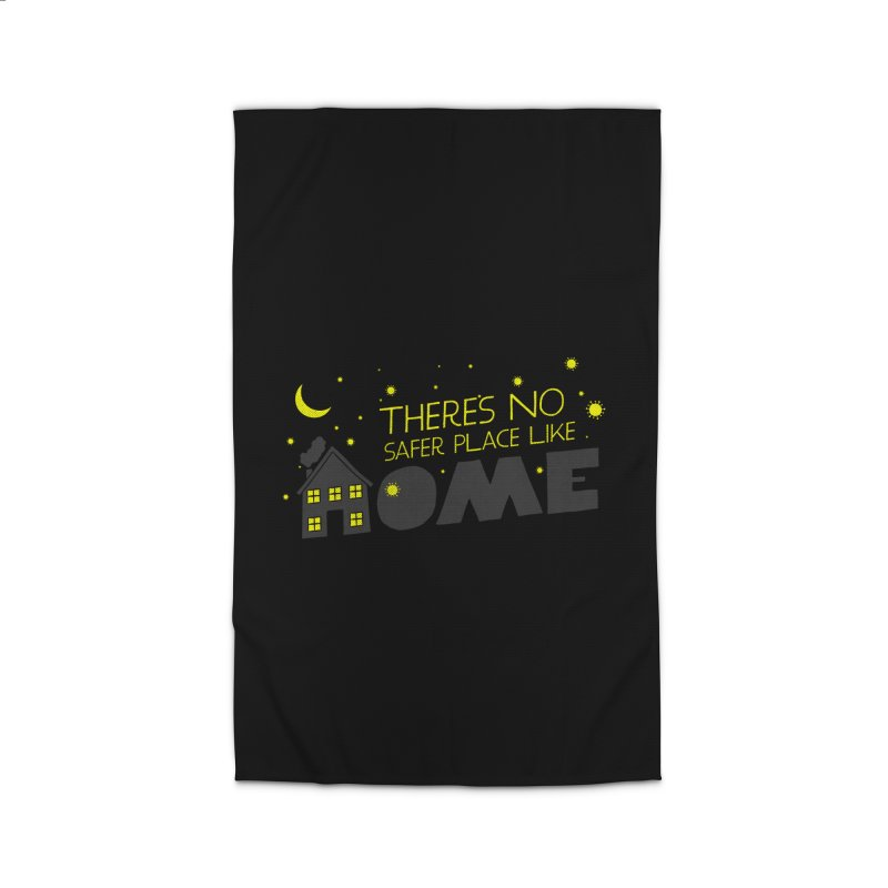 There's no safe place like HOME Home Rug by Opippi