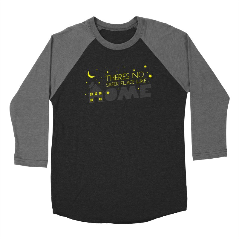 There's no safe place like HOME Women's Baseball Triblend Longsleeve T-Shirt by Opippi