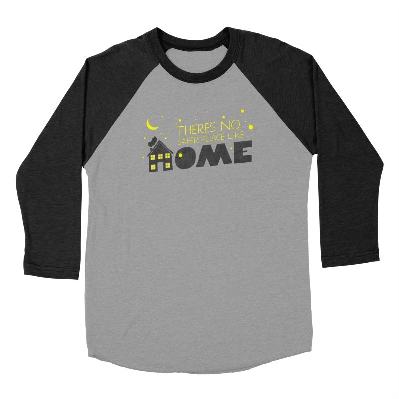 There's no safe place like HOME Men's Baseball Triblend Longsleeve T-Shirt by Opippi