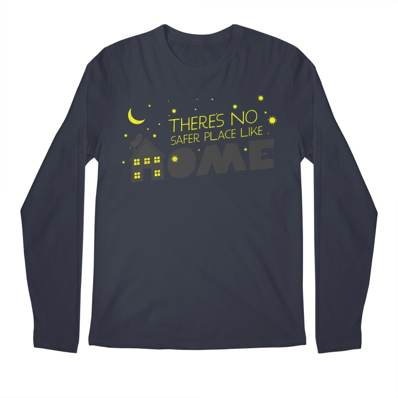 There's no safe place like HOME Men's Regular Longsleeve T-Shirt by Opippi