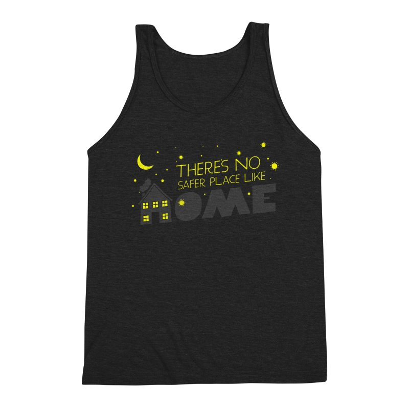 There's no safe place like HOME Men's Triblend Tank by Opippi