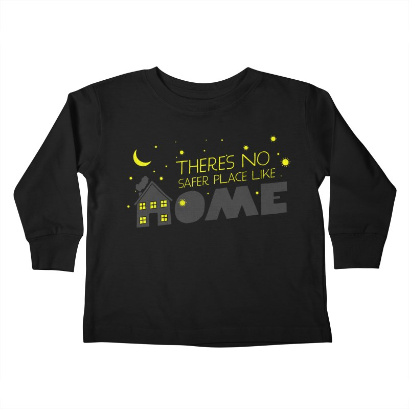There's no safe place like HOME Kids Toddler Longsleeve T-Shirt by Opippi