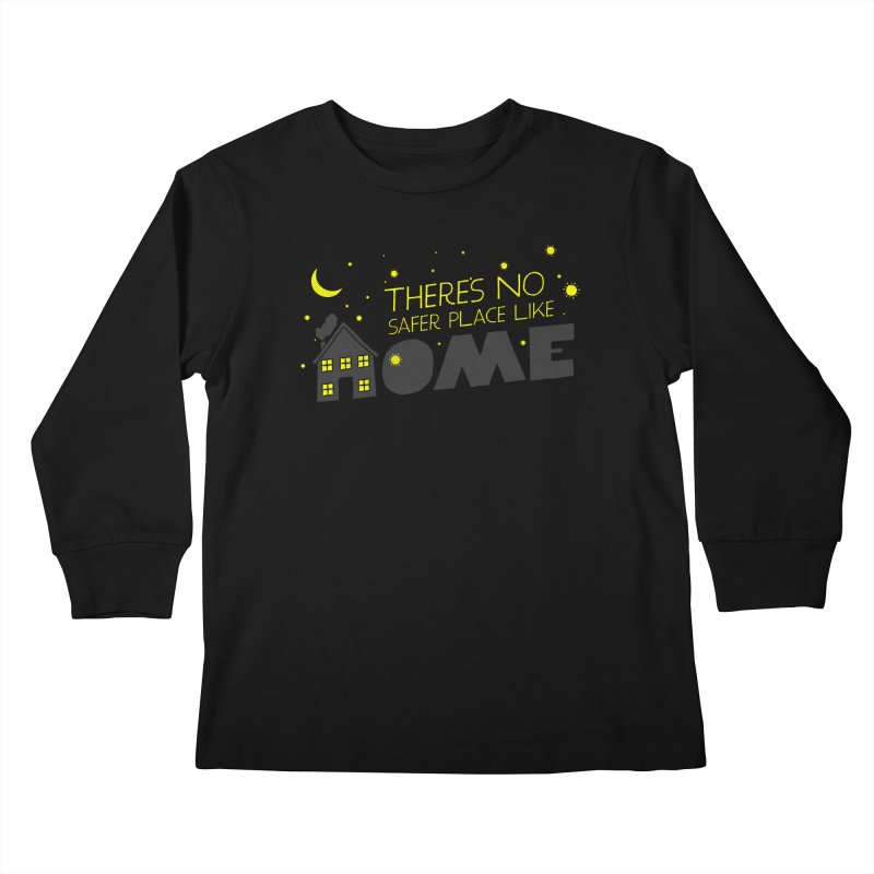 There's no safe place like HOME Kids Longsleeve T-Shirt by Opippi