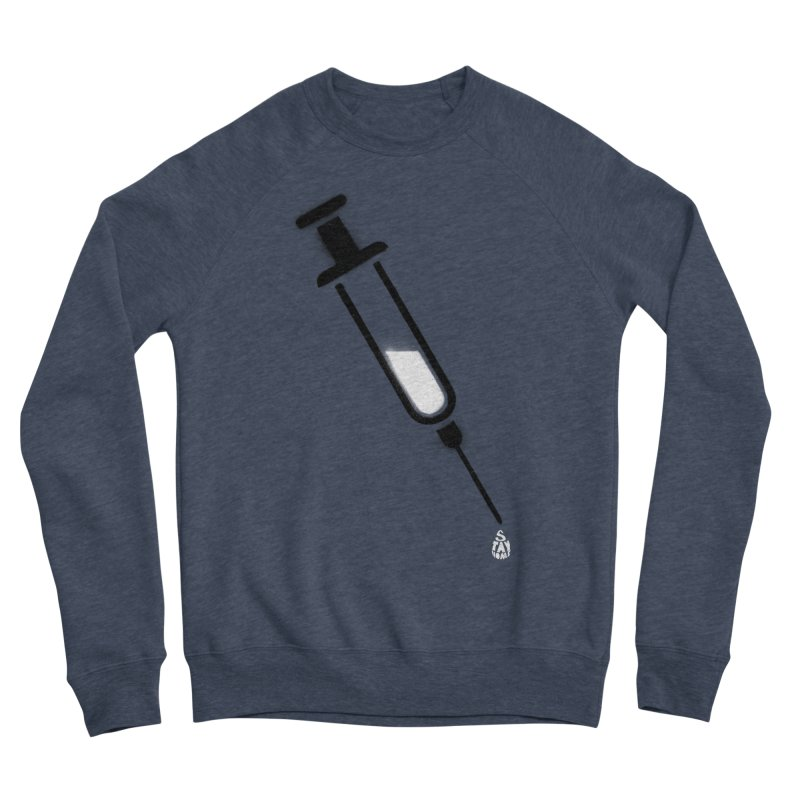 The Vaccine Men's Sponge Fleece Sweatshirt by Opippi