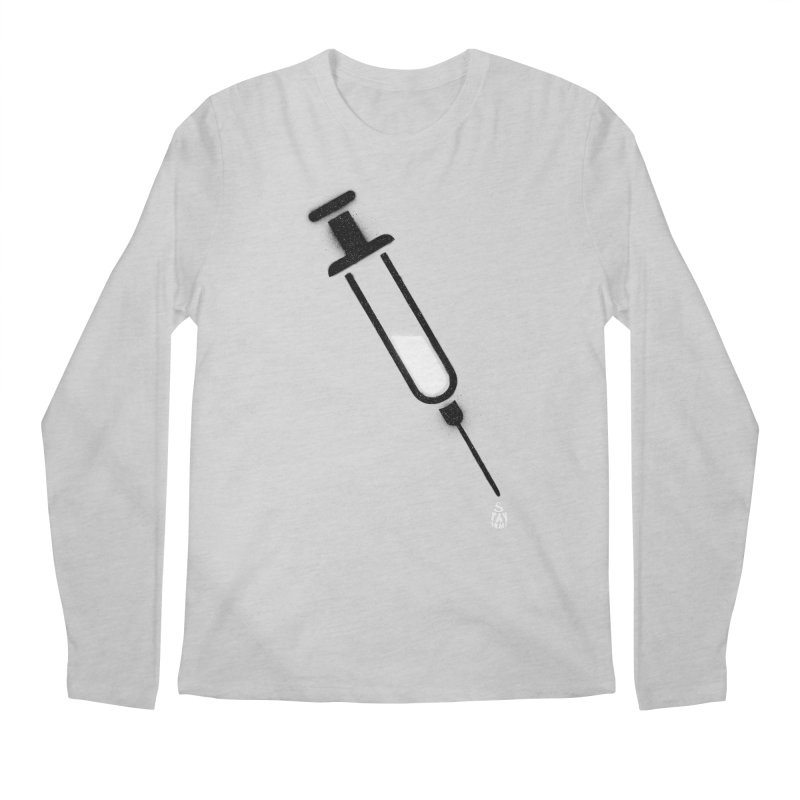 The Vaccine Men's Regular Longsleeve T-Shirt by Opippi