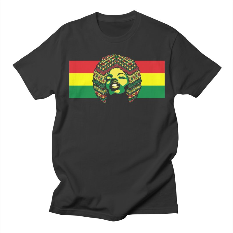Mama Africa face Men's T-Shirt by Opippi