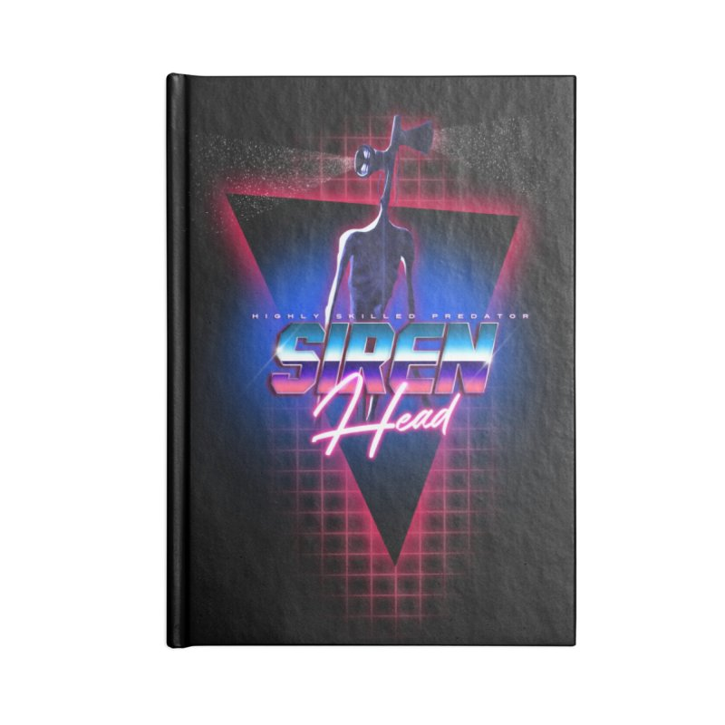Highly skilled predator Siren Head 80s vintage meme Accessories Notebook by Opippi
