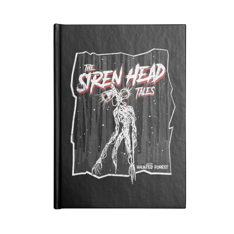 Scary Siren Head tales dark forest meme Accessories Notebook by Opippi