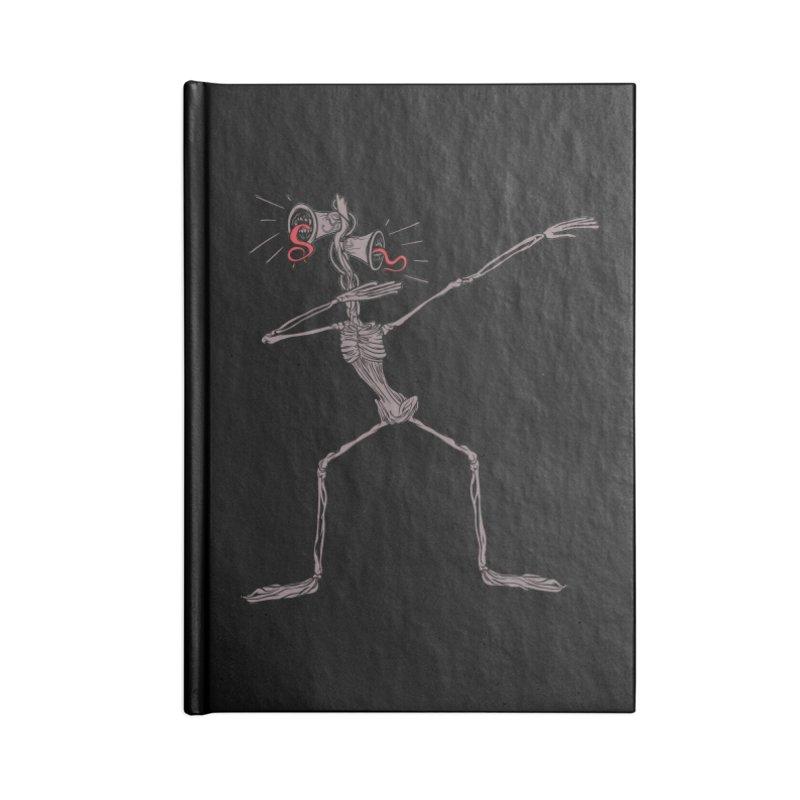 Dabbing Siren Head halloween meme Accessories Notebook by Opippi