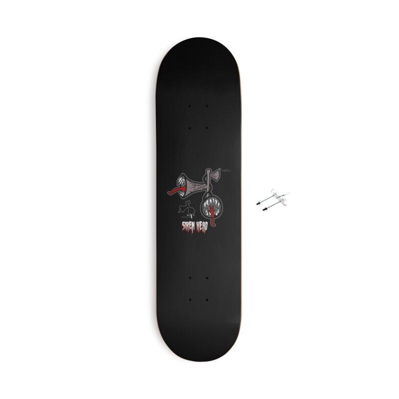 Siren head printable halloween mask Accessories Skateboard by Opippi