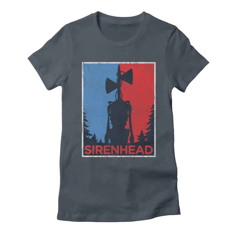 Siren Head political horror campaing Women's T-Shirt by Opippi