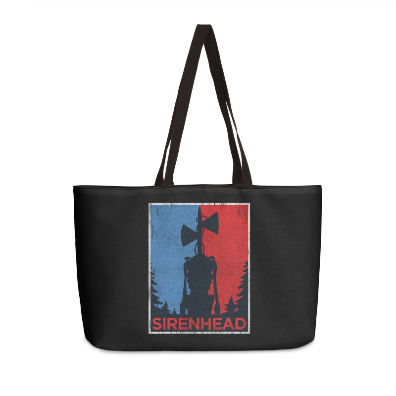 Siren Head political horror campaing Accessories Bag by Opippi