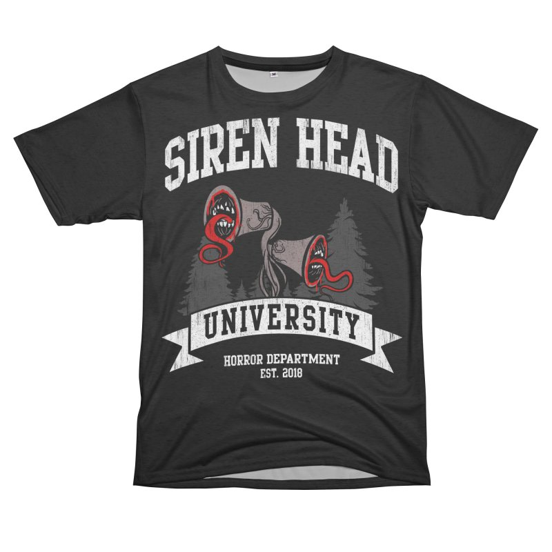Siren Head University Horror Department Women's Cut & Sew by Opippi