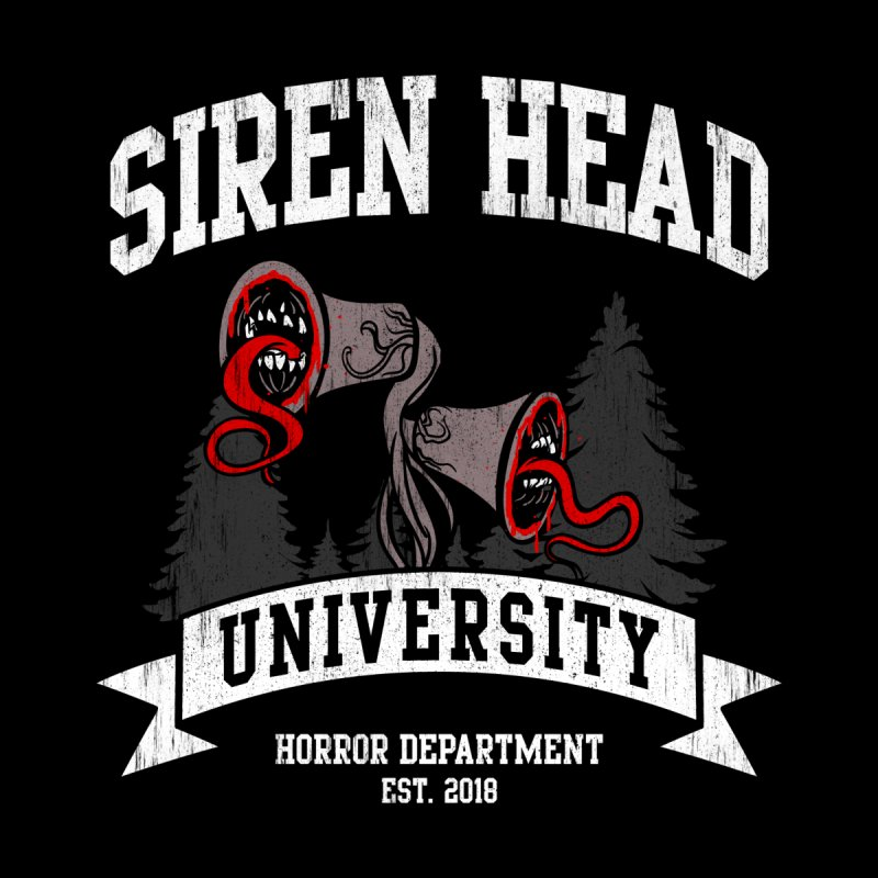 Siren Head University Horror Department Accessories Notebook by Opippi