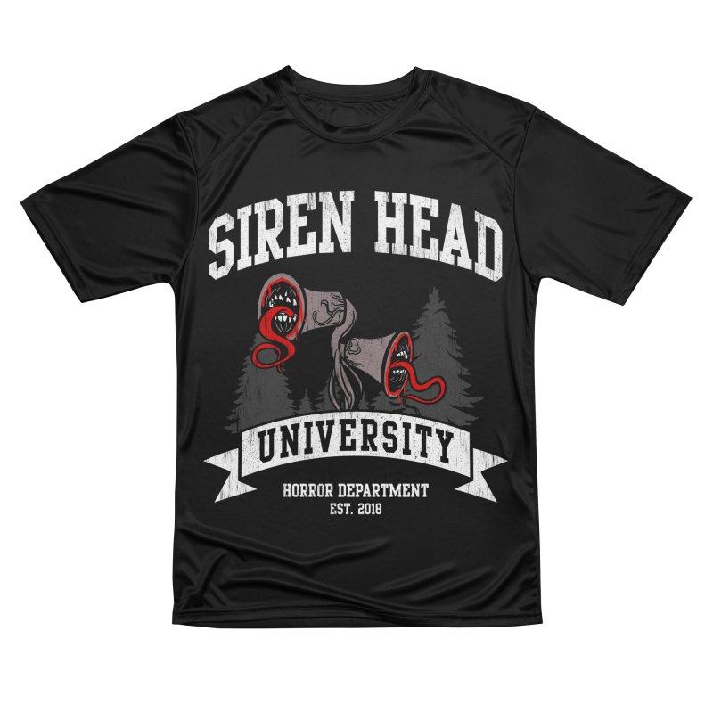 Siren Head University Horror Department Men's T-Shirt by Opippi