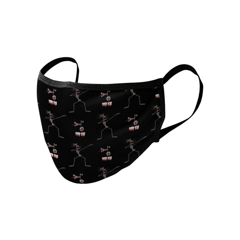 Dabbing Siren Head pattern Accessories Face Mask by Opippi