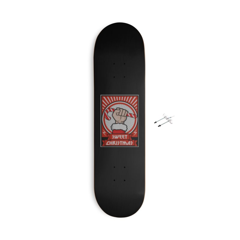 Sweet christmas candy revolution Accessories Skateboard by Opippi