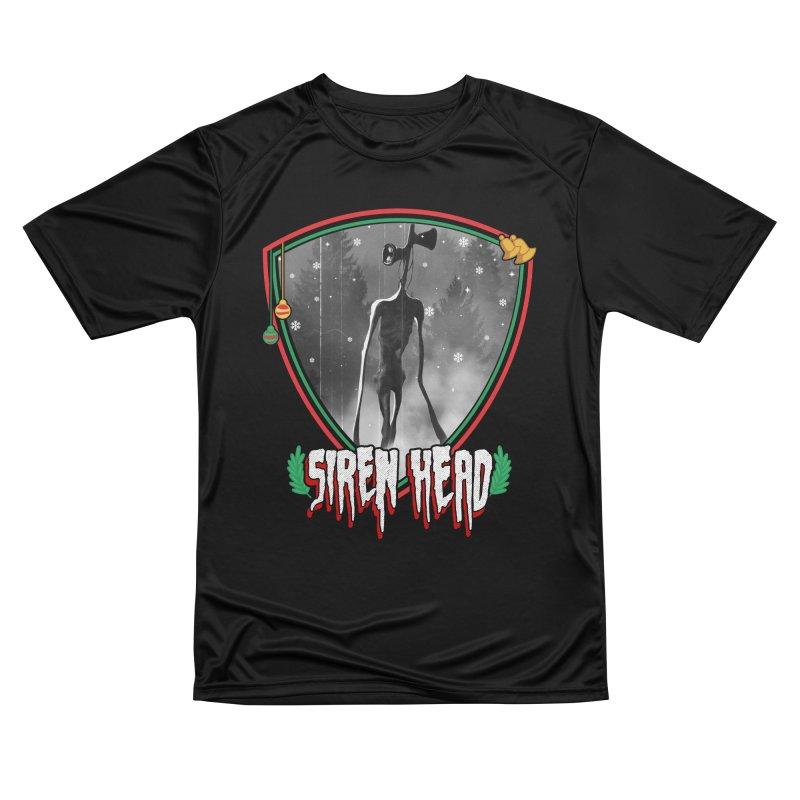 Christmas Siren Head Men's T-Shirt by Opippi