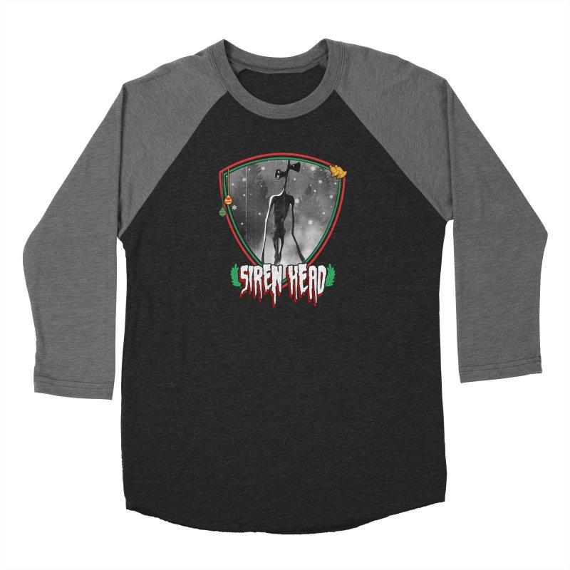 Christmas Siren Head Women's Longsleeve T-Shirt by Opippi
