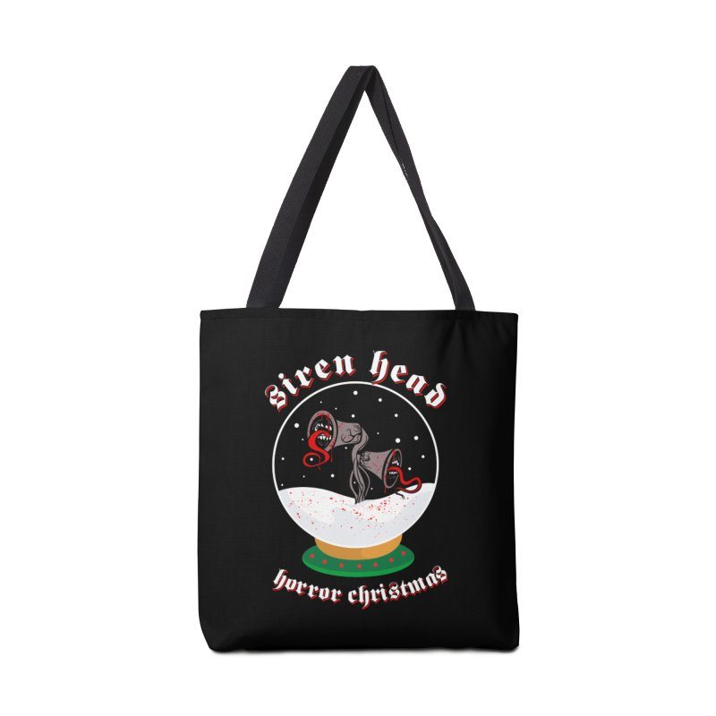 Siren Head Horror Christmas snow globe Accessories Bag by Opippi