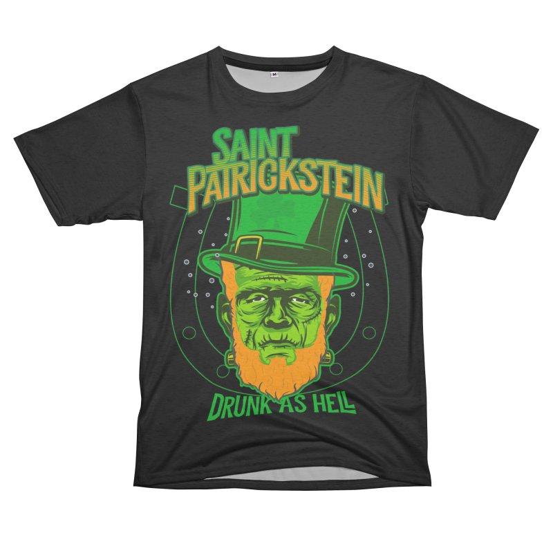 Saint Patrickstein drunk as hell gifts Women's Cut & Sew by Opippi