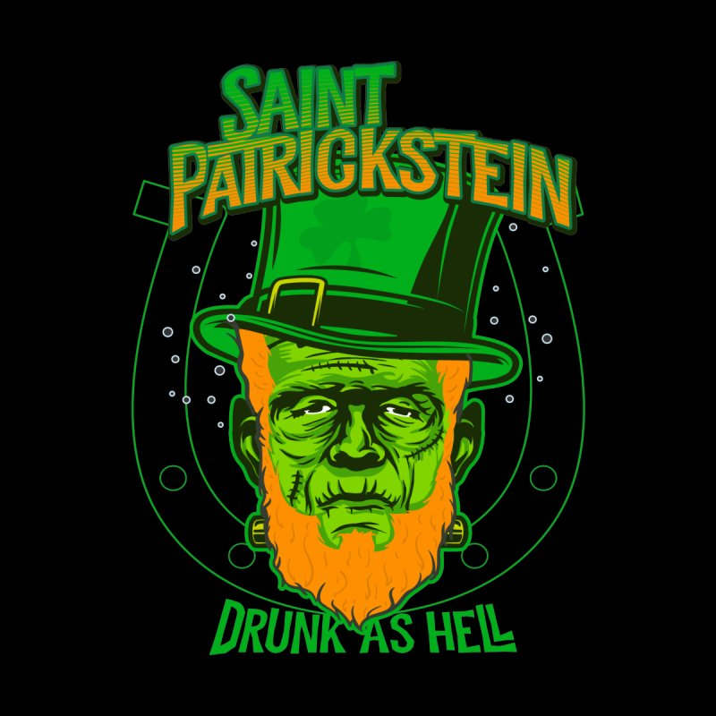 Saint Patrickstein drunk as hell gifts Men's Pullover Hoody by Opippi