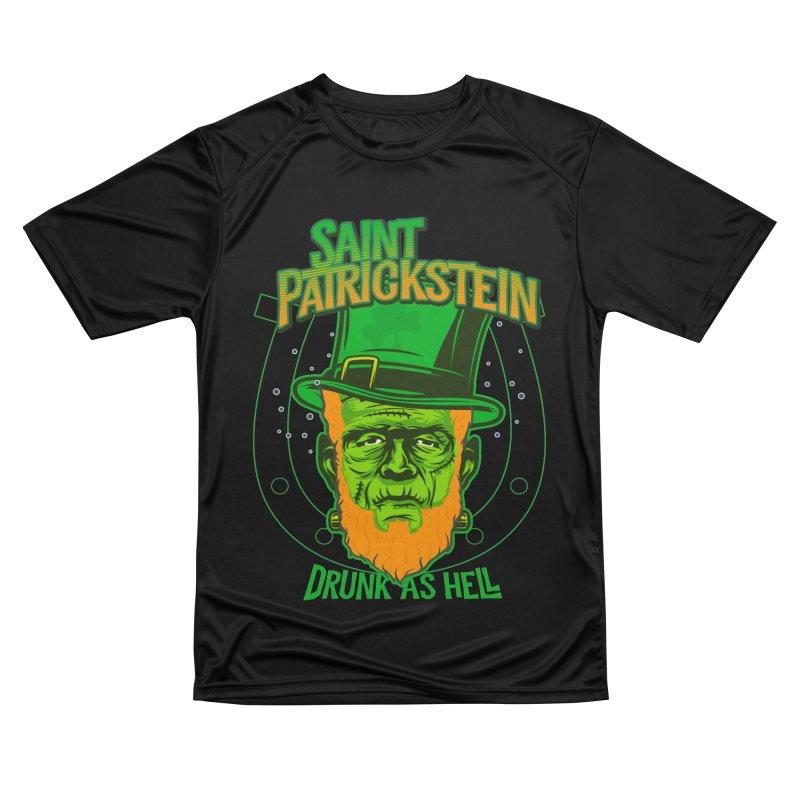 Saint Patrickstein drunk as hell gifts Men's T-Shirt by Opippi