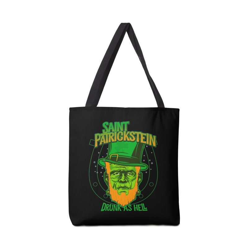Saint Patrickstein drunk as hell gifts Accessories Bag by Opippi