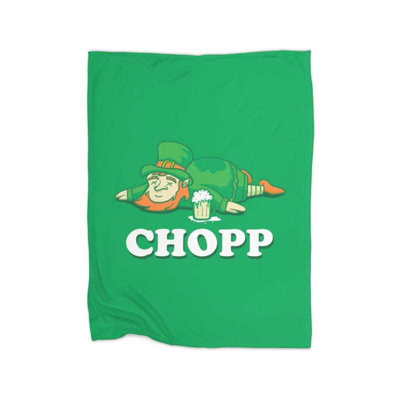 Leprechaun Chopp saint patricks day gifts Home Blanket by Opippi