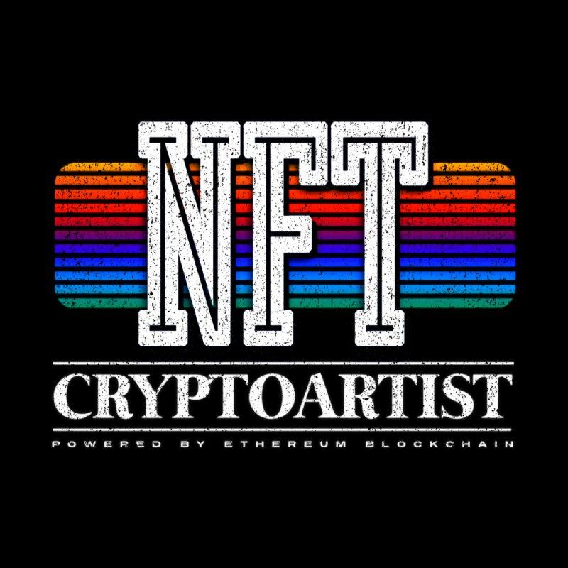 Nft Cryptoartist 80s retro vibes Men's T-Shirt by Opippi