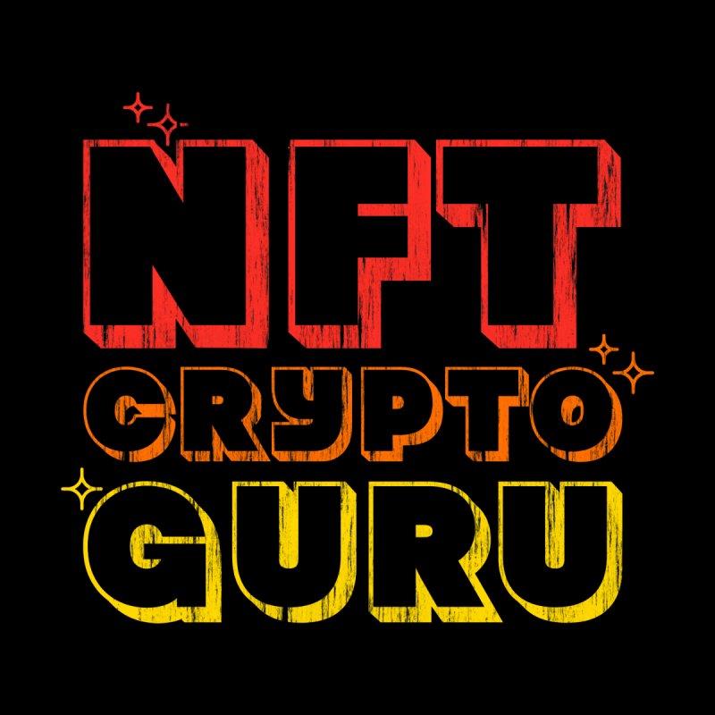 NFT Crypto Guru Non Fungible Token Men's T-Shirt by Opippi